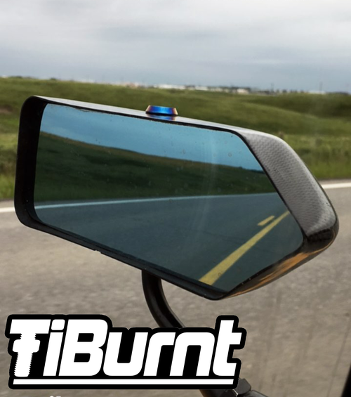 Image of TiBurnt Titanium EVO X JUN Aero Mirror Bolts