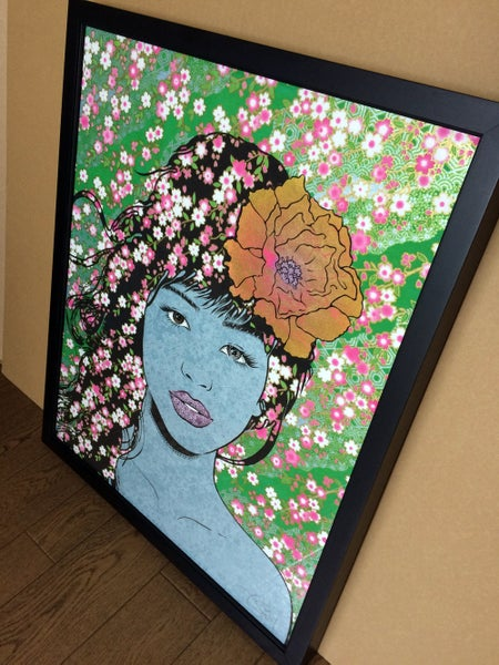 Image of SAKURA Variant Framed Edition by Chuck Sperry