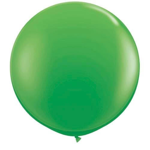 Image of Giant Round Balloons - Spring Green
