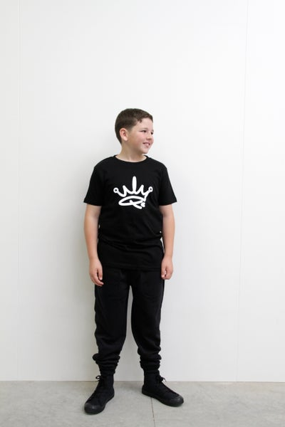 Image of MINI ME YOUTH TEE - BLACK