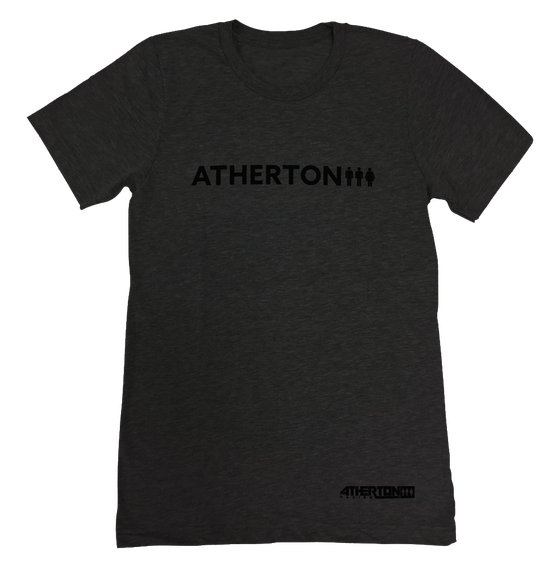 Image of Mens Word Tee - Dark Grey New June 17