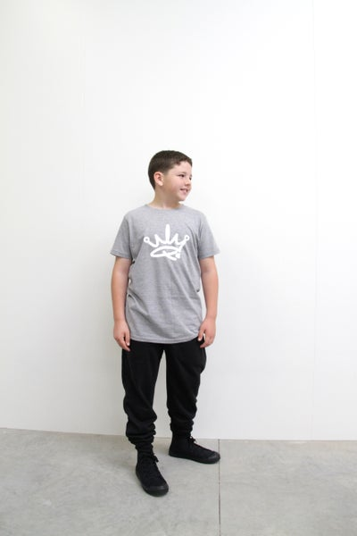 Image of MINI ME YOUTH TEE - GREY
