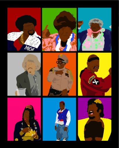 Image of Martin Character Collage