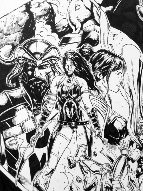 Image of Justice League 44 Cover