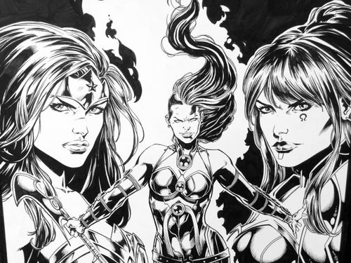 Image of Justice League Darkseid War Special #1 Cover