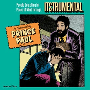 "Image of PRINCE PAUL ""ITSTRUMENTAL"" 2LP Vinyl (Limited Edition)"