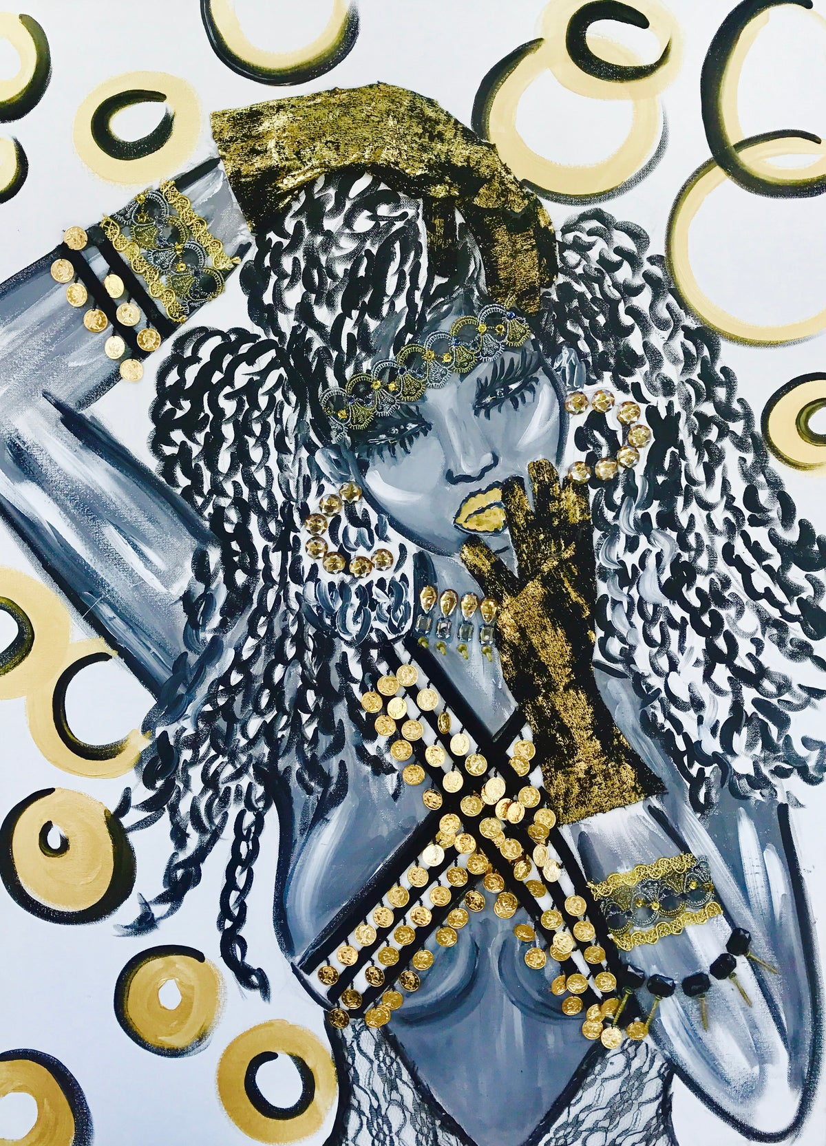 "Image of ""Gypsy Goddess"" FINE ART PRINT"