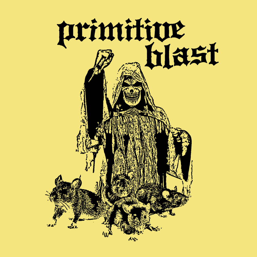"Image of Primitive Blast ""S/T"" 7"""