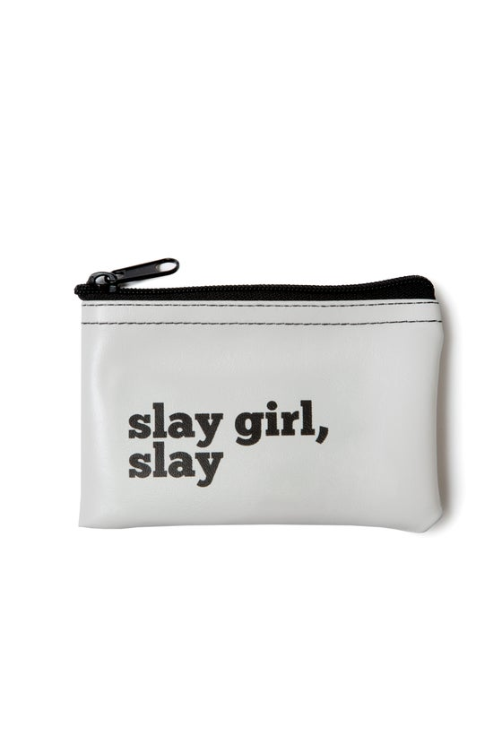 Image of Slay Girl, Slay vinyl zip pouch