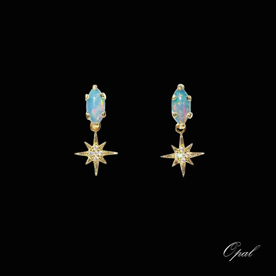 Image of Marquise Star Earrings (more colors)