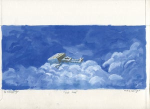 Cloud Sleep - Matt Q. Spangler Illustration