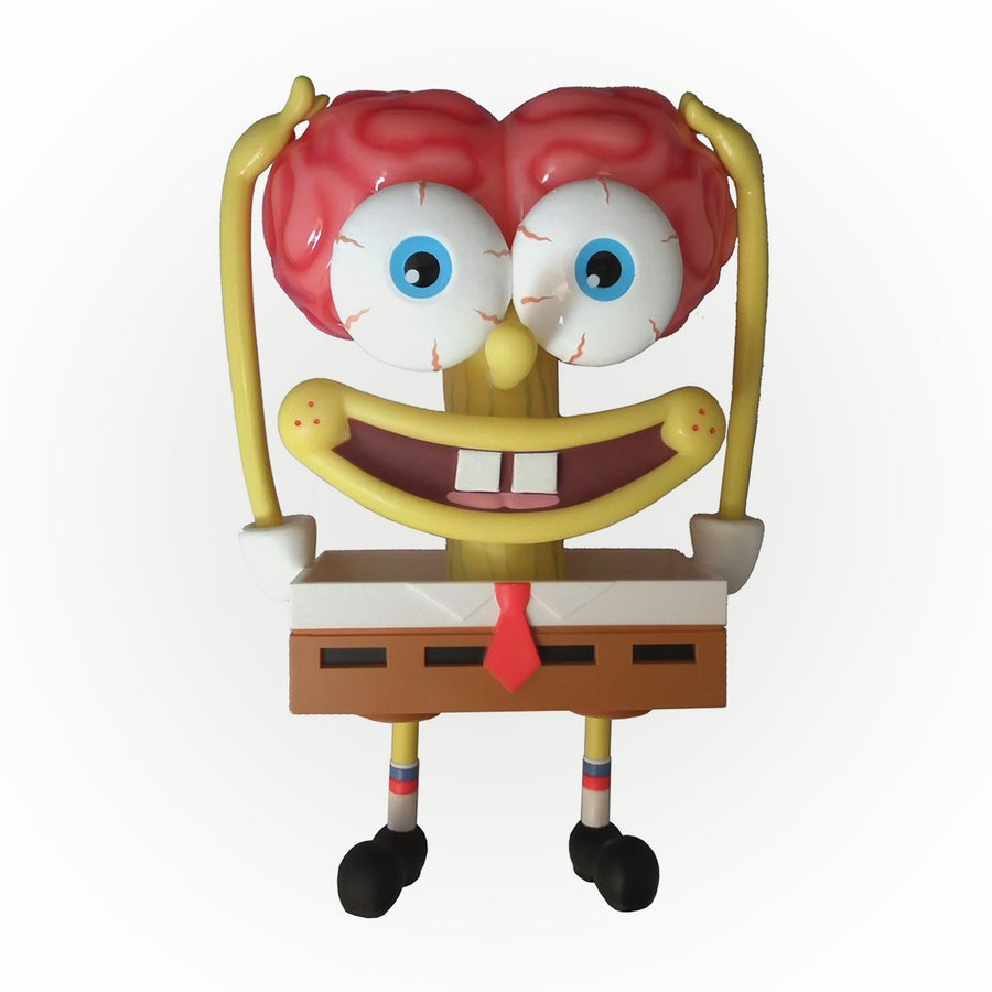 Image of SPONGEBRAIN INACTION FIGURE