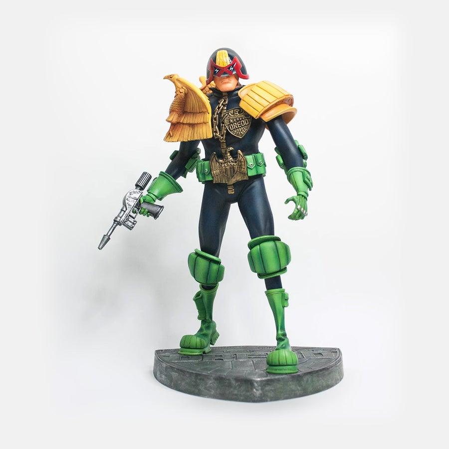 Image of ART EDITION JUDGE DREDD (FREE SHIPPING PROMOTION)