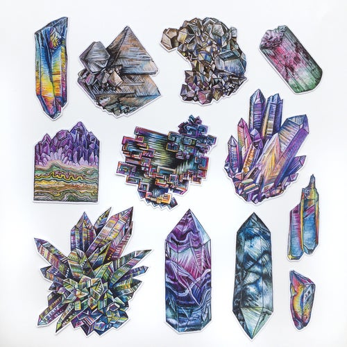 Image of Crystal Sticker Pack #2
