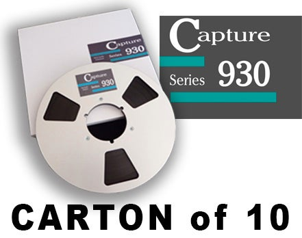 "Image of CARTON of CAP930 1/4"" X3600' 10.5"" Metal Reel Hinged Box"