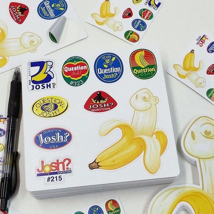Image of Banana Label Sheet