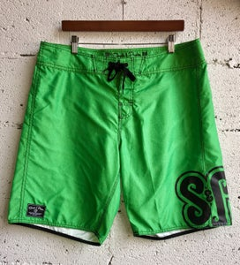 "Image of S&P-""Branded"" BoardShort (Heather Green)"