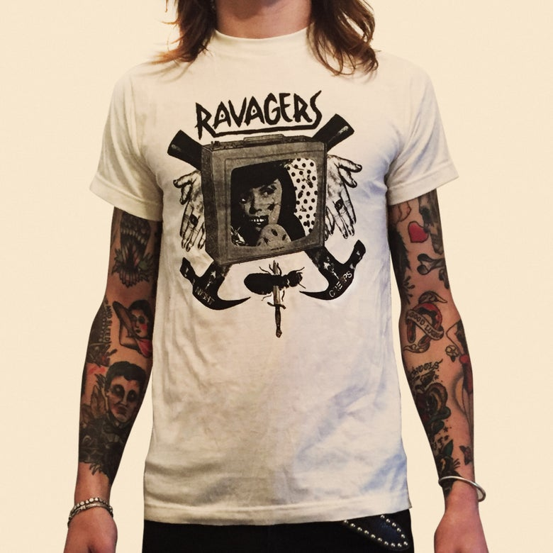 Image of RAVAGERS - NIGHT CREEPS TEE