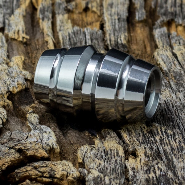 Image of Raptor Polished Ti Bead