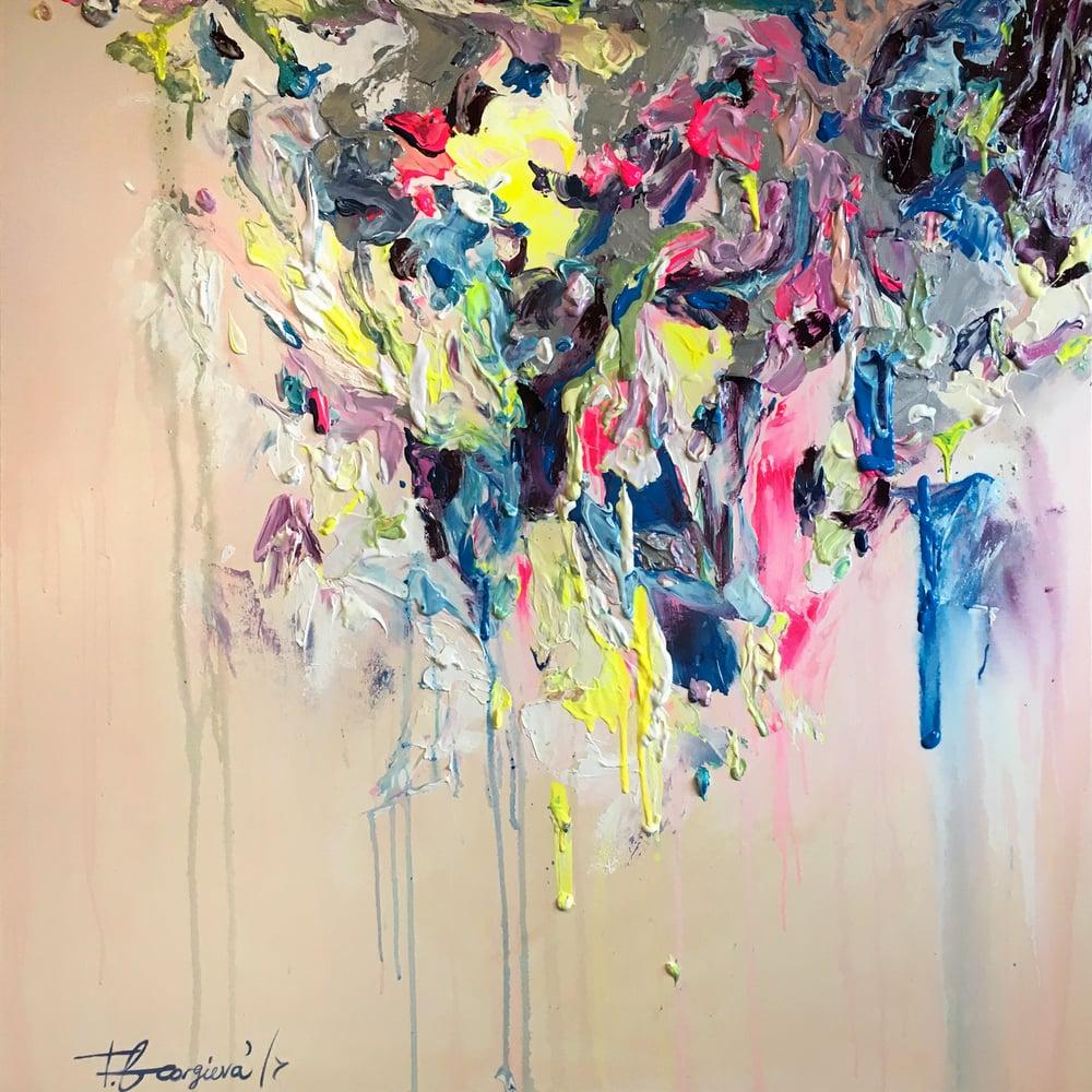 Image of 'Festivus' - 100x100cm