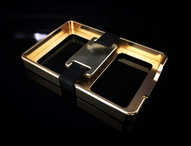 Image of Brass Bux Box with Brass Buckle
