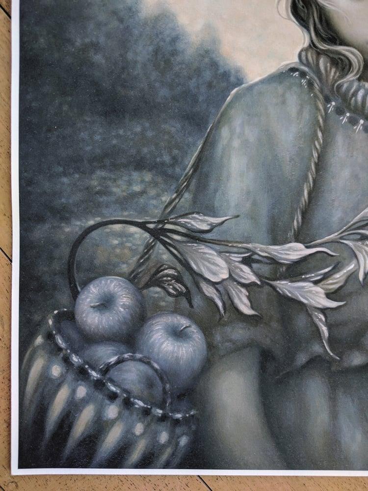 Image of Wayfaren - hand embellished print