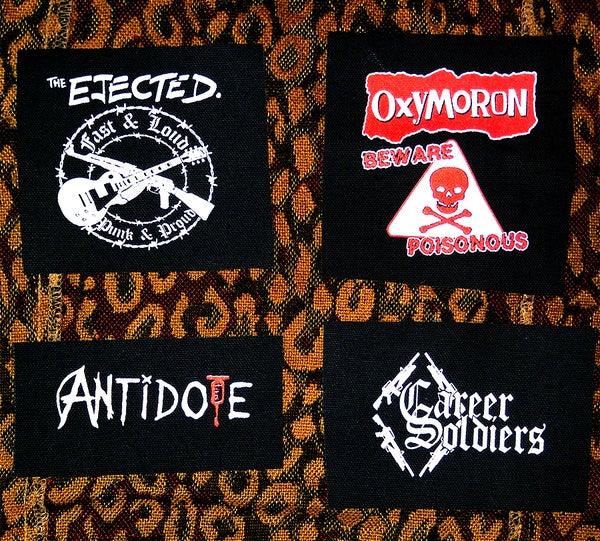 Image of Pick 1 patch - The Ejected, Oxymoron, Antidote, Career Soldiers