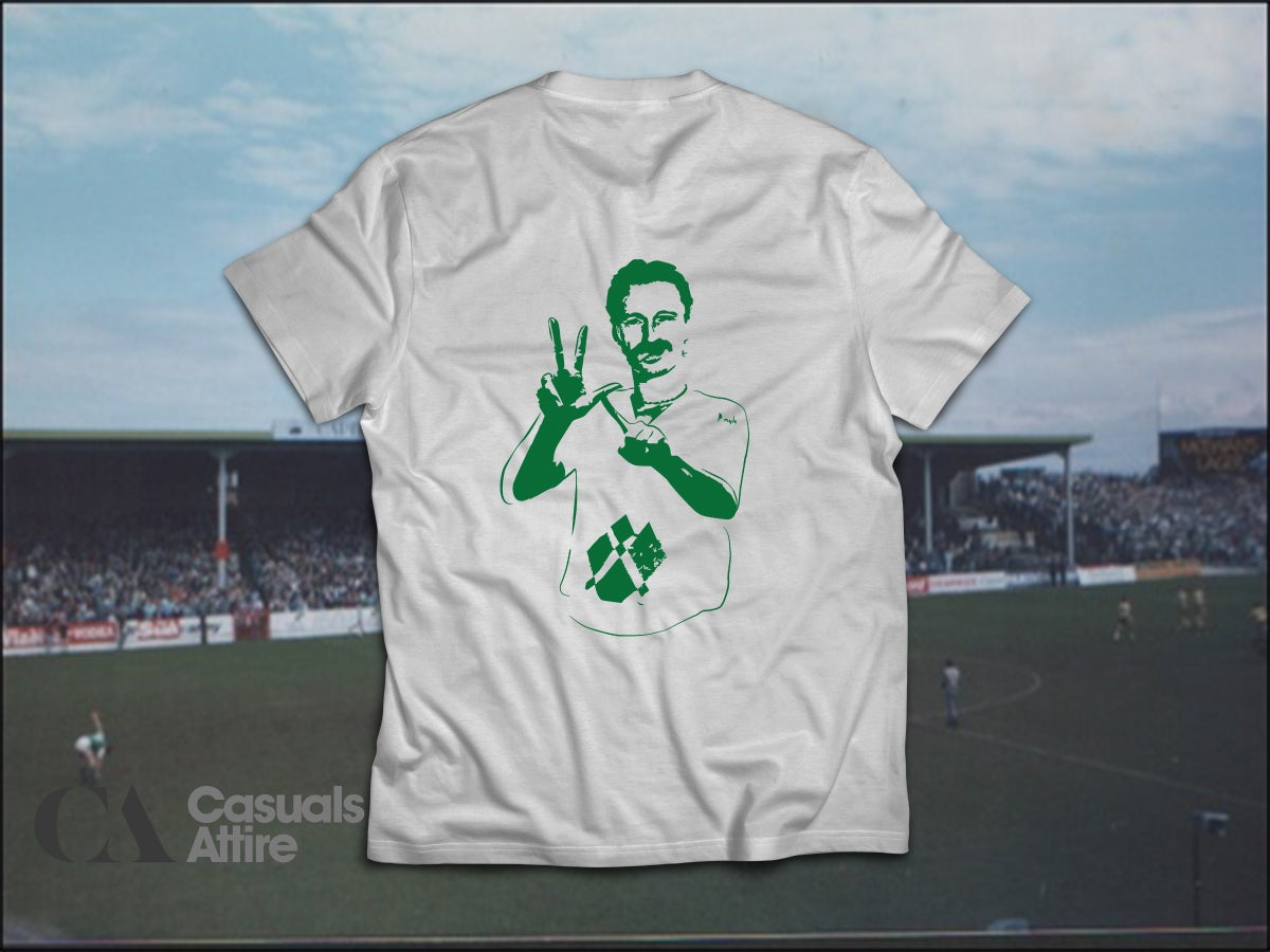 YLT, Young Leith Team, Hibs, Hibernian, Begbie Brand NewAsh Grey t-shirts.
