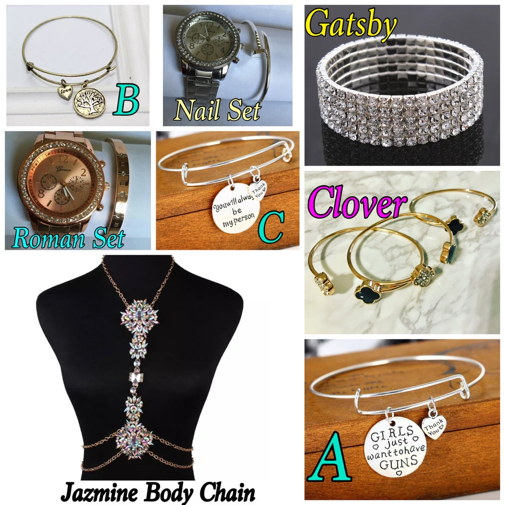 Image of Bracelets/Body Chains/Watch Sets