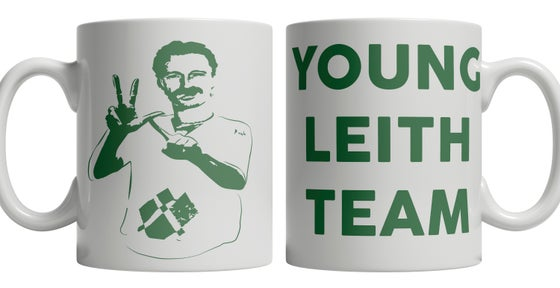 Image of YLT, Young Leith Team, Hibs, Hibernian, Begbie Brand New Mug.