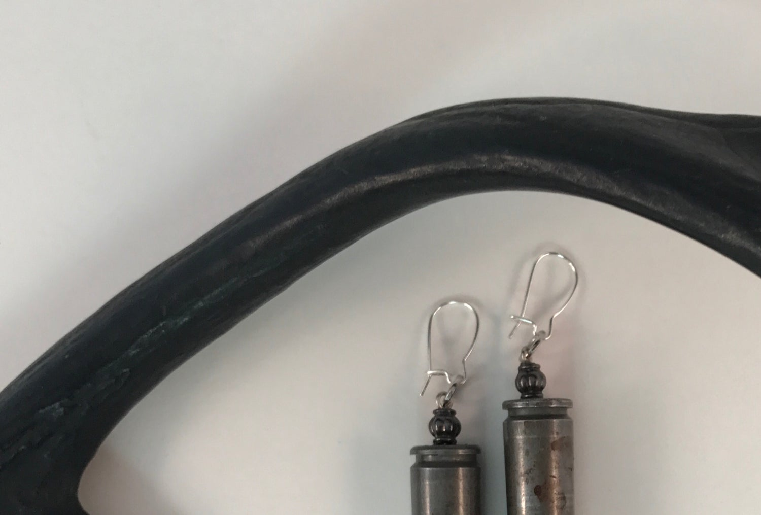 Image of Silver Bullet Earrings