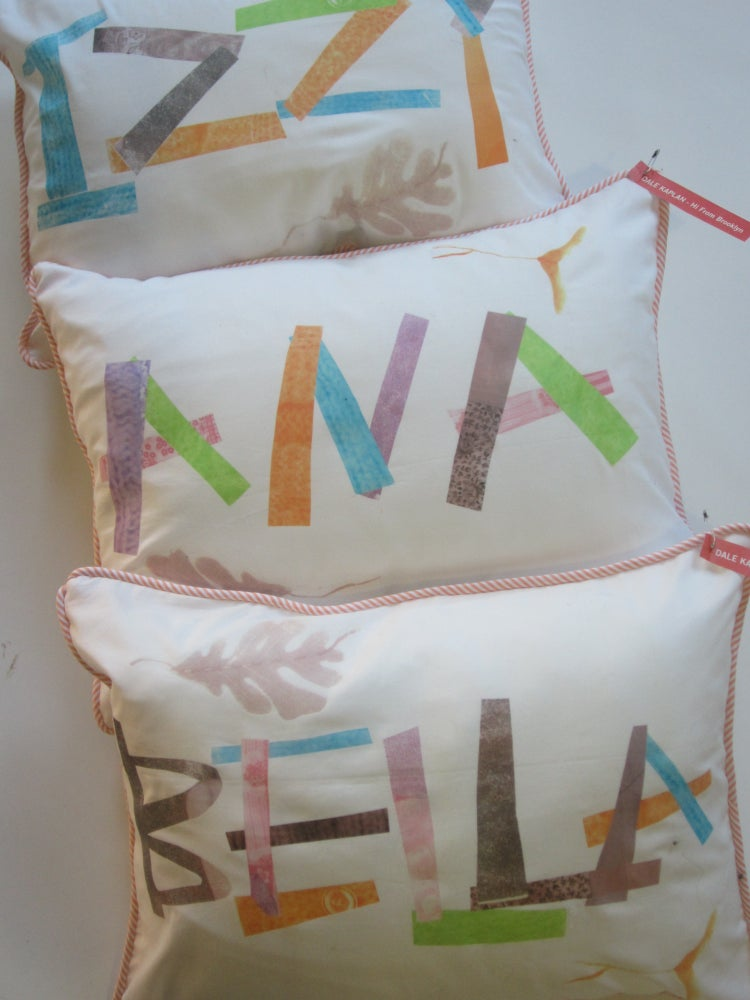 Image of Custom Name Pillows