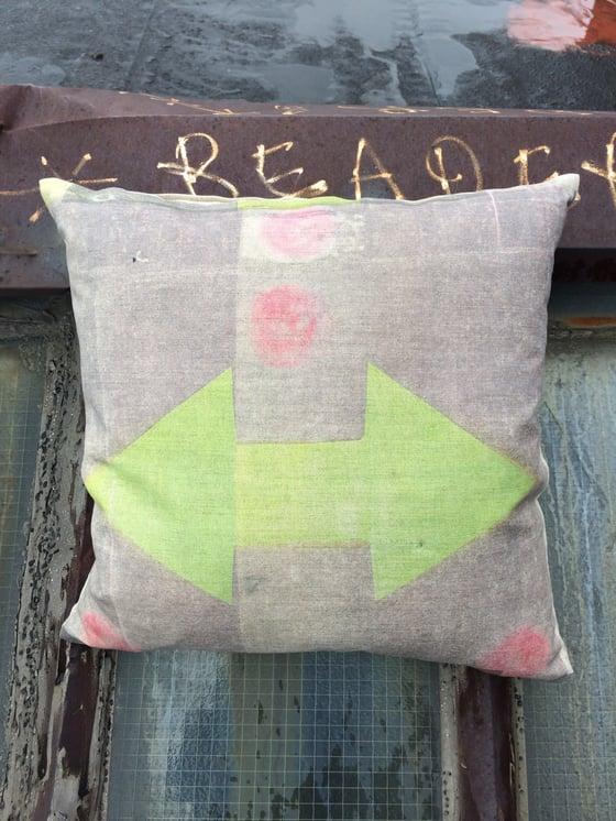Image of Pink Dot Pillow