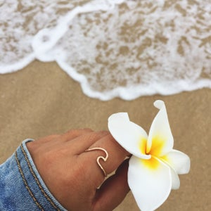 Image of Ride the Wave Ring (Sterling Silver or 14kt Gold Filled)