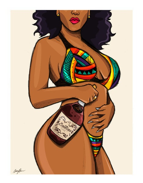 Image of Henny Babe (Print)