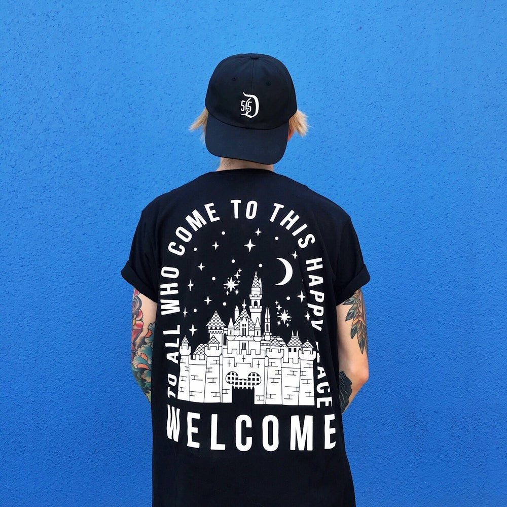 Image of Welcome Tee Black