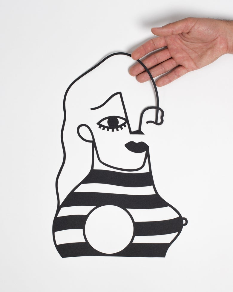 Image of PAPERCUT FRENCH LADY