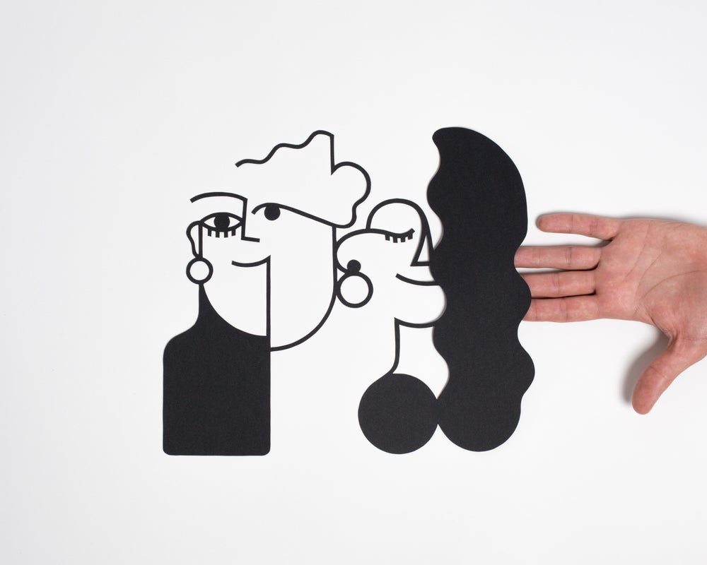 Image of PAPERCUT COUPLE