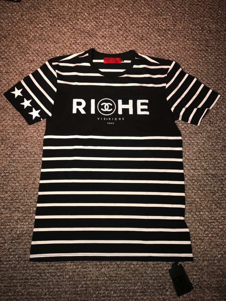 "Image of Vie + Riche ""Double C"" Tee"