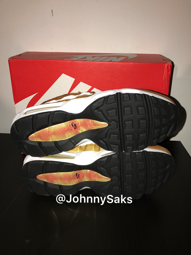 "Image of Nike Air Max 95 QS ""Metallic Gold"""