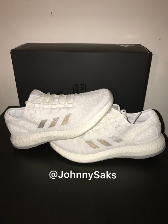 "Image of SneakerBoy x Wish Adidas Pure Boost ""Glow In The Dark"""