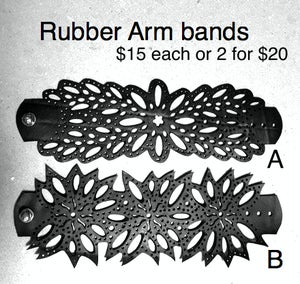 Image of Rubber arm bands