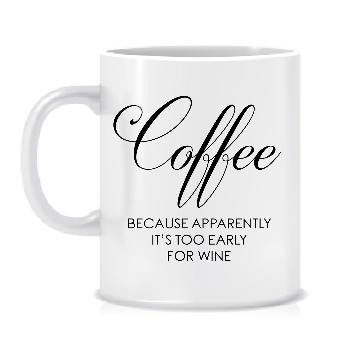 Image of Coffee because apparently it's too early for wine