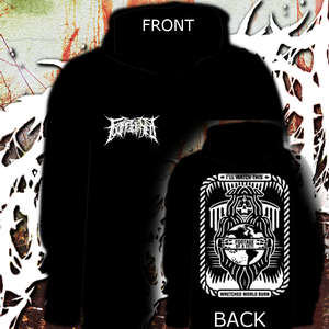 Image of WRETCHED WORLD HOODIE