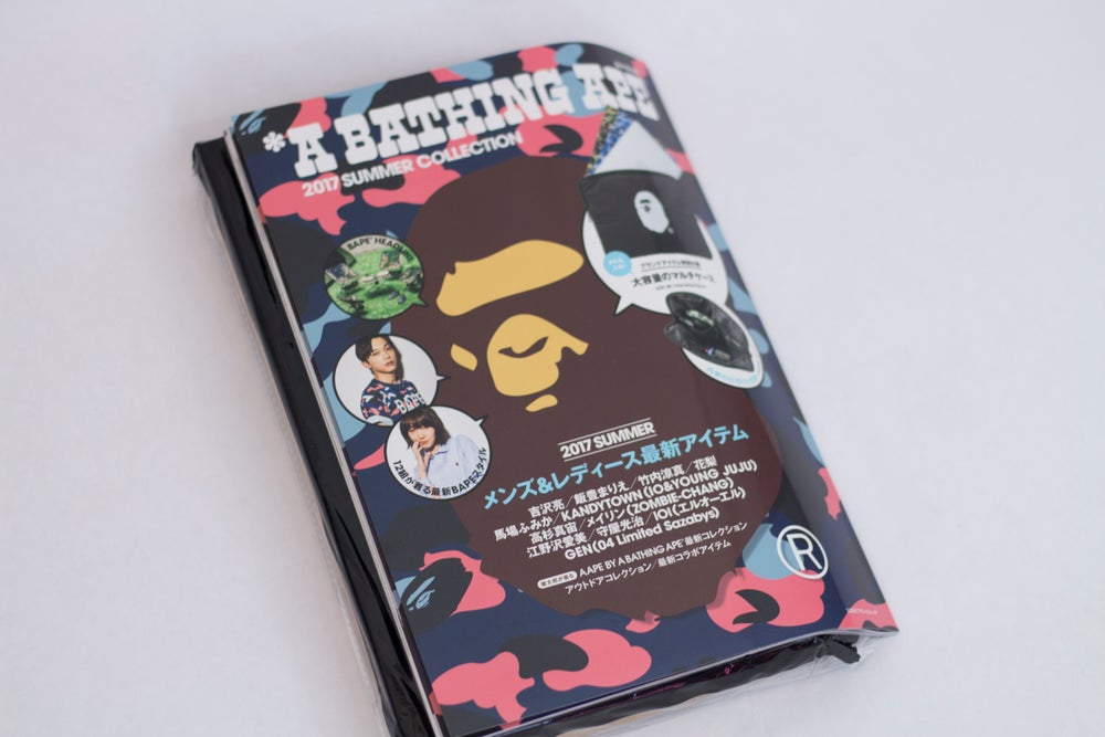 Image of BAPE Laptop Case & Summer 2017 Look Book