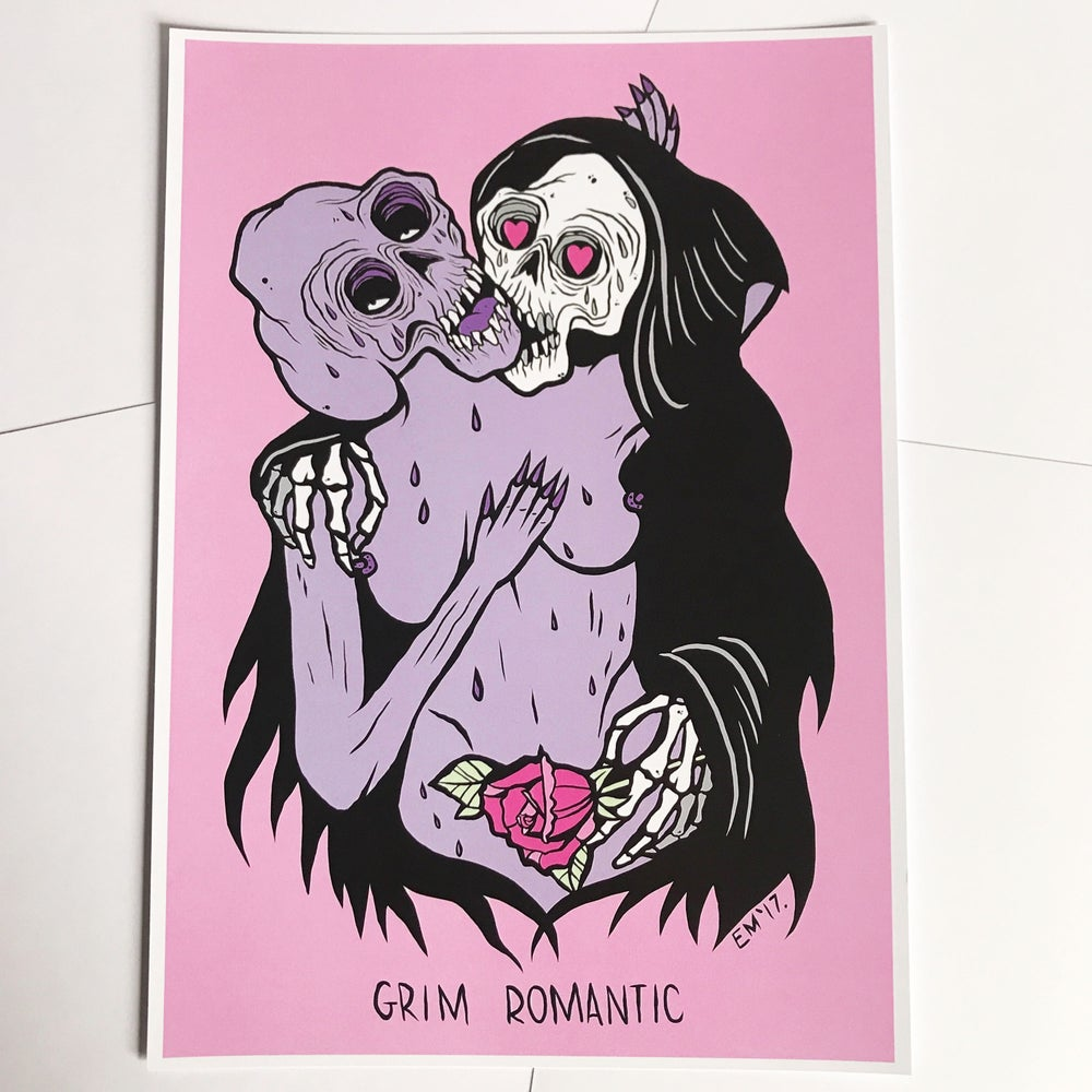Image of The Grim Romantic A4 Print