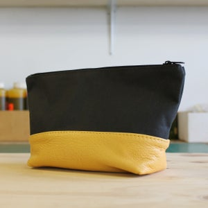 Image of Bath Bag - Canary Yellow