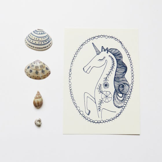Image of Unicorn - Card