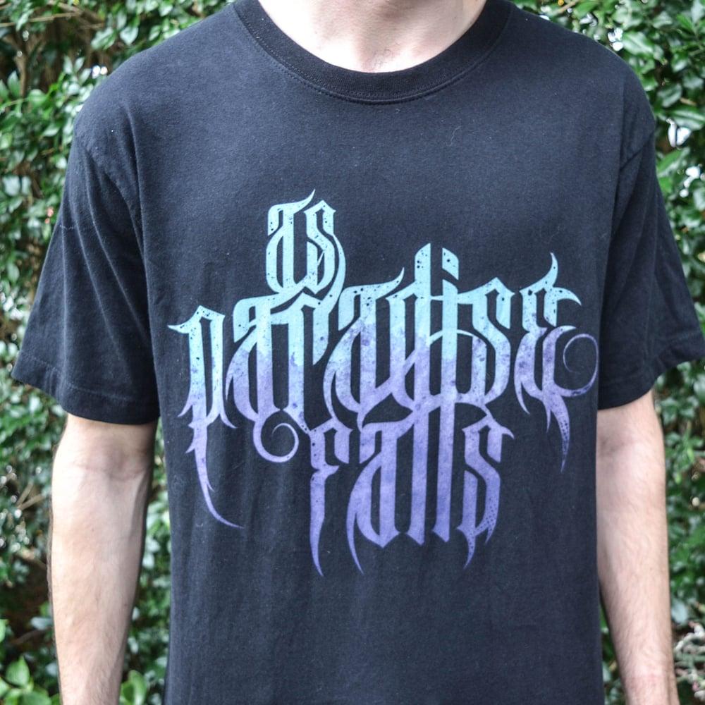 Image of As Paradise Falls Logo Purple