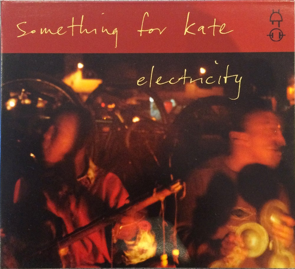 Image of Something for Kate - 'Electricity' CD single digi pack original